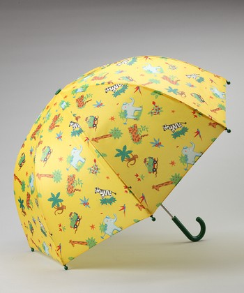 Yellow Safari Umbrella