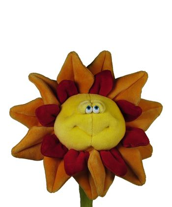 Red & Yellow Sunflower Plush Toy
