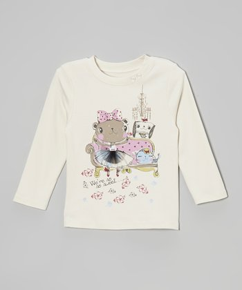 Crème Brulee Tutu & Friends Tee - Toddler & Girls