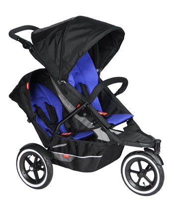 Black & Navy explorer Double Your Buggy Bundle
