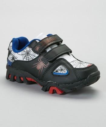 SYKE Black & White Spider Sneaker