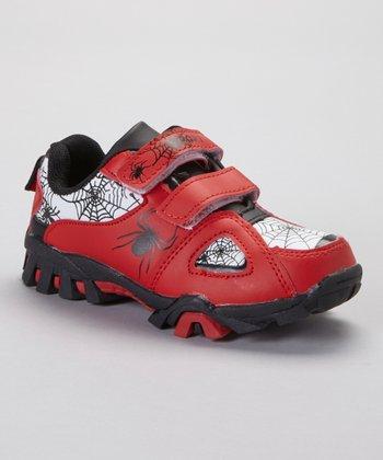 SYKE Red & White Spider Sneaker