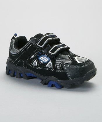 SYKE Black & Royal Mesh Sneaker
