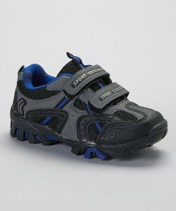 SYKE Black & Royal Sporty Sneaker