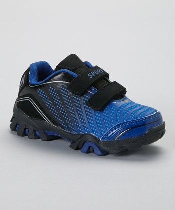 Black & Royal Ombré Running Shoe