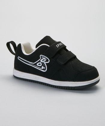 SYKE Black & White Boo Sneaker