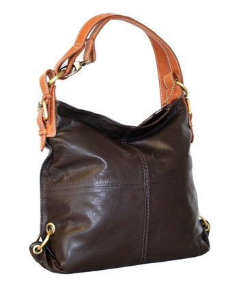 Chocolate West Side Hobo Bag