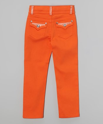 Persimmon Bling Skinny Jeans - Girls
