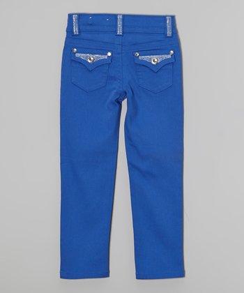 Ultramarine Bling Skinny Jeans