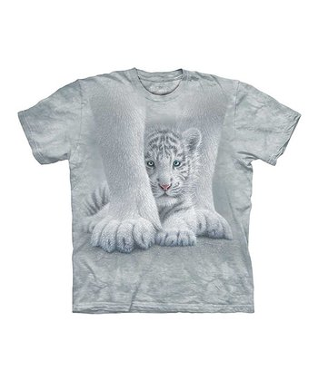 Gray Sheltered Tee - Toddler & Kids