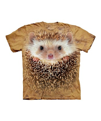 Tan Hedgehog Face Tee - Toddler, Kids & Adult