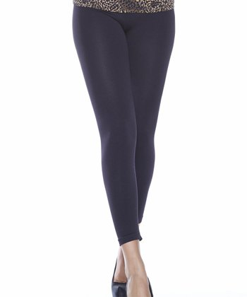 Black Ahh Comfort Leggings - Women & Plus