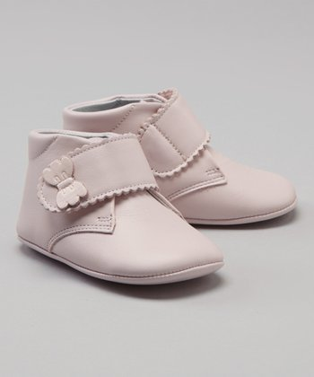 Pink Bow Hi-Top Shoe