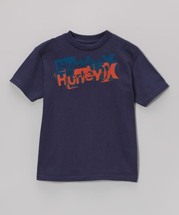Legacy Navy Level Tee - Boys