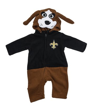 New Orleans Saints Fleece Playsuit - Infant