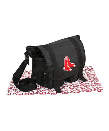Boston Red Sox Sitter Diaper Bag