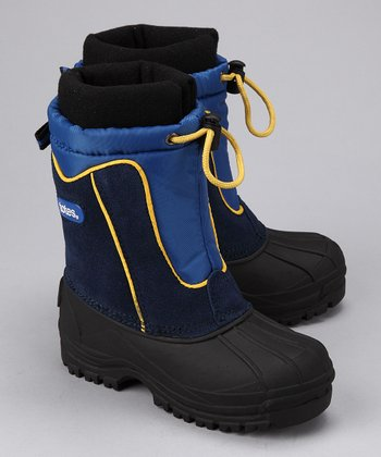 totes Navy Greg Boot