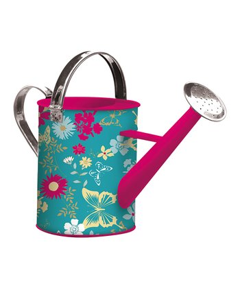 Butterfly Floral Watering Can