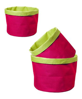 Pink Blast Pot Cover Set