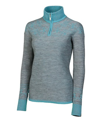 Aqua Shelly Merino Pullover - Women