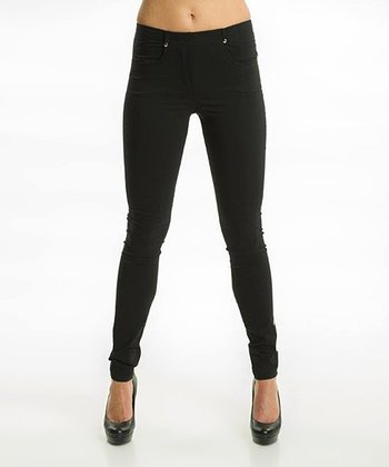 Premise Paris Black Skinny Leggings