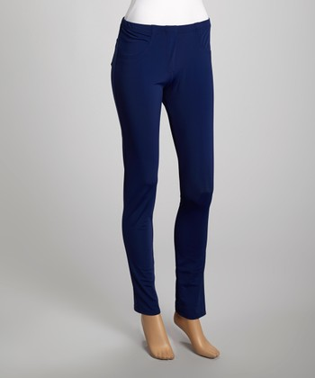 Premise Paris Navy Skinny Leggings