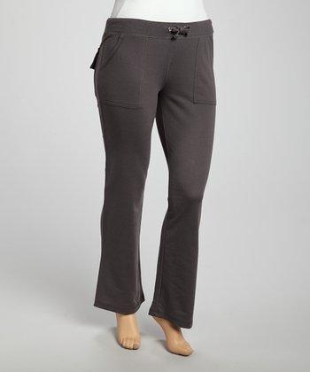 Charcoal Lounge Pants - Plus