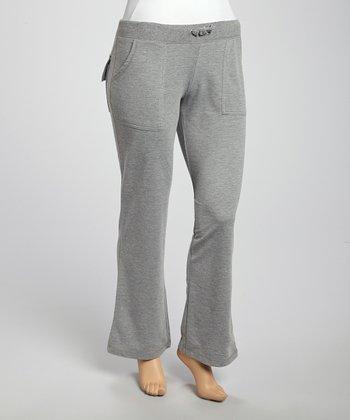 Heather Gray Lounge Pants - Plus