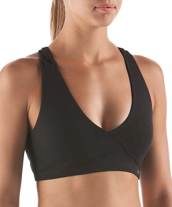 Black Allure Low-Support Sports Bra