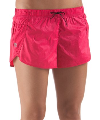 Dark Pink Kanabo Training Shorts