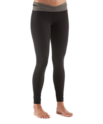 Black Full-Guard Tights