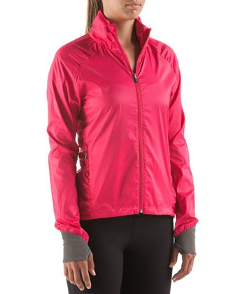 Dark Pink Kanabo Wind Jacket