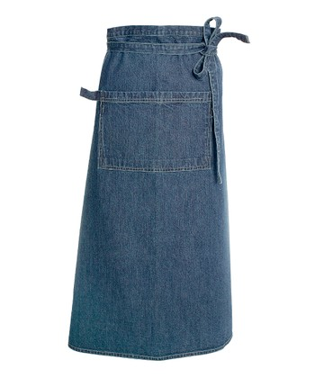 Blue Barbecue Apron