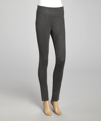 Charcoal Ponte Leggings