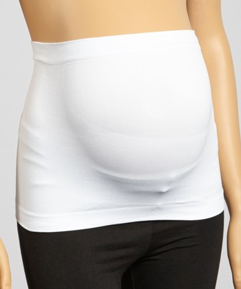 Lamaze Intimates White Belly Band - Women