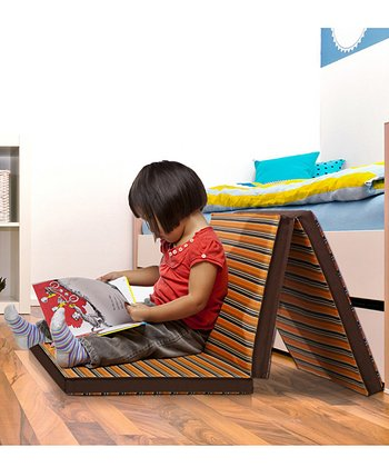 Orange & Brown Multi-Play & Lounging Mat