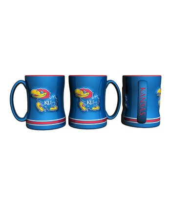 Kansas Jayhawks Relief 14-Oz. Mug