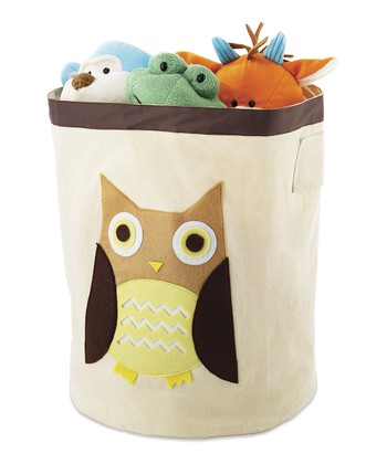 Brown Owl Storage Bin