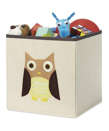 Brown Owl Storage Cube