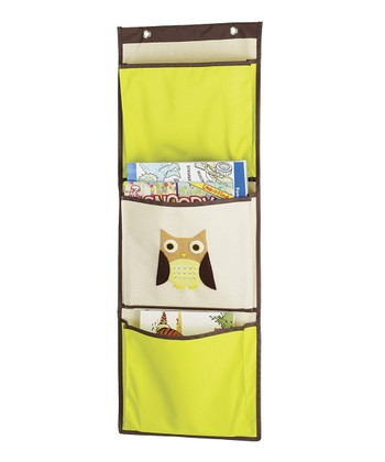 Brown Owl Wall Organizer