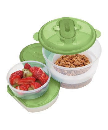 Chill-To-Go Oval Five-Piece Container Set