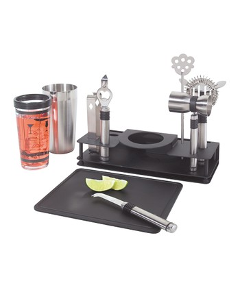 10-Piece Bar Set & Stand