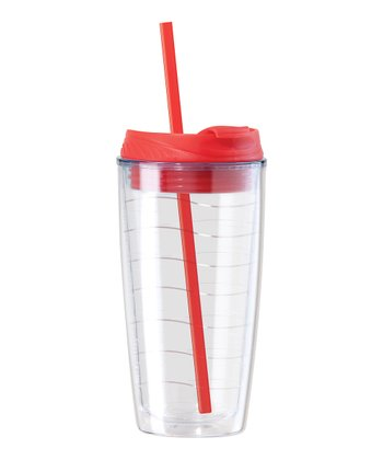 Red 20-Oz. Capri Double-Wall Tumbler