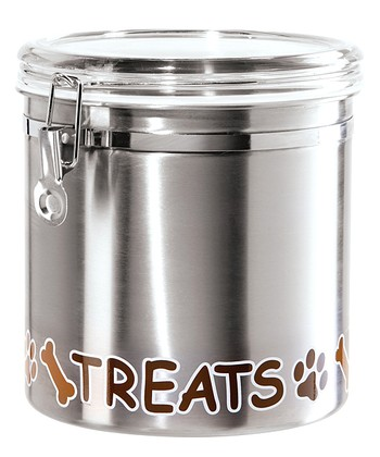 Stainless Steel 130-Oz. 'Treats' Canister