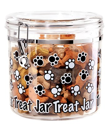 Clear 130-Oz. 'Treat Jar' Canister