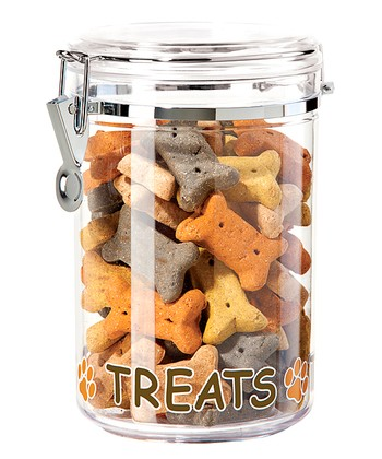 Clear 51-Oz. 'Treats' Canister