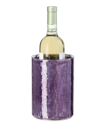 Purple Double-Wall Wine Cooler