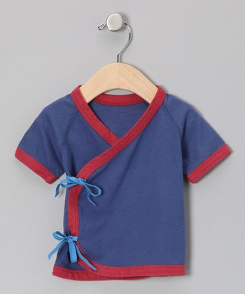 Blue & Red Wrap Tee - Infant