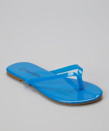 Chatties Blue Y-Strap Flip-Flop