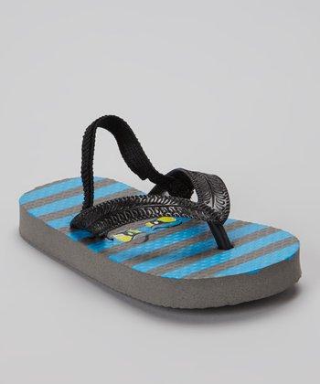 Chatties Gray Monster Flip-Flop